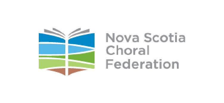 Noval Scotia Choral Federation logo