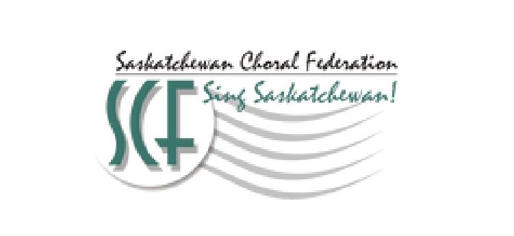 Saskatchewan Choral Federation logo